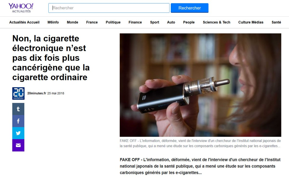 Cigarette électronique : comment choisir la bonne ?